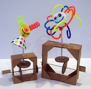 Cardboard Automata: Mechanical Toys