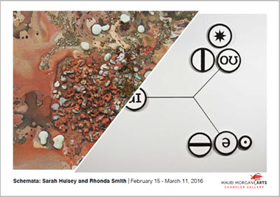 Schemata: Works by Sarah Hulsey and Rhonda Smith