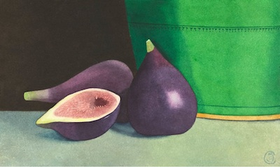 Intimate Still Life Paintings by Amy Clarkson