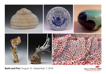 Earth and Fire: Work by Maud Morgan Arts Clay Faculty
