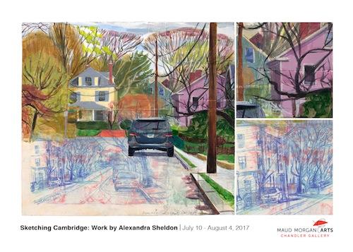 Sketching Cambridge: Work by Alexandra Sheldon