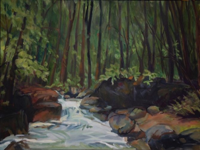Into the Woods: Paintings by Susan Mallory Sherman